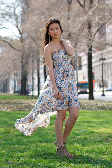 LF Floral Tail Dress Summer 2011