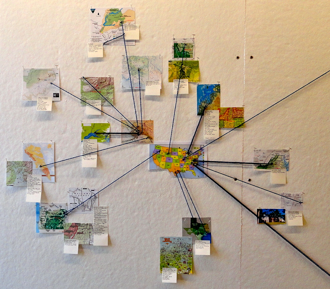 Prairie Center Mapping Place and Robert MacFarlane Katey Schultz – Travel Map Where I Ve Been