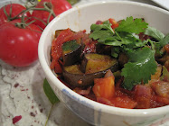 Eggplant Curry~Baingan Ka Bharta.