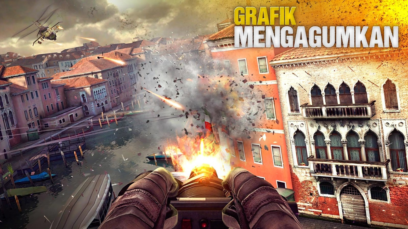 Download Modern Combat 5 Blackout Apk+Data For Android