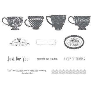 Stampin' Up! Tea Shoppe Stamp Brush Set - Digital Download