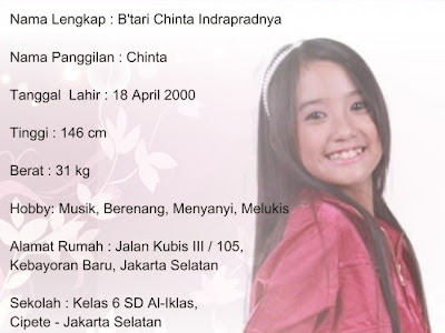 Profil Singkat Chinta Swittins