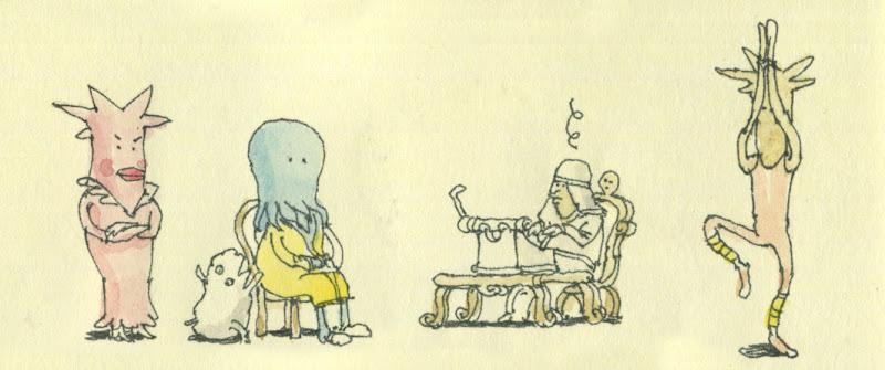 cthulhu writing a book