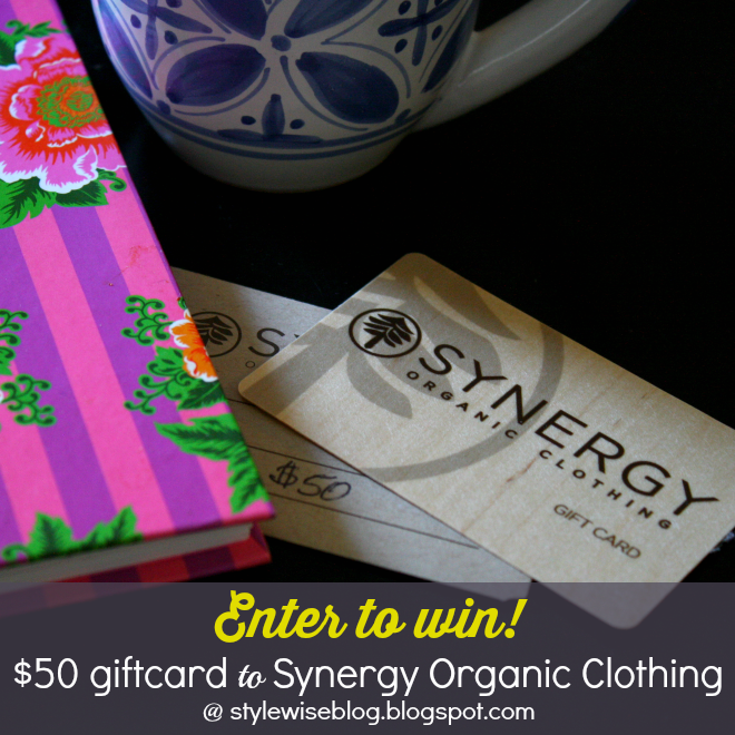 synergy organic clothing giveaway