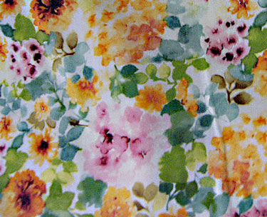 Floral Fabric for Cambie Dress