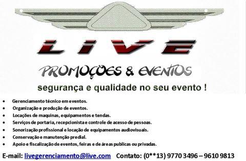 Live Promoções e Eventos em Registro-SP