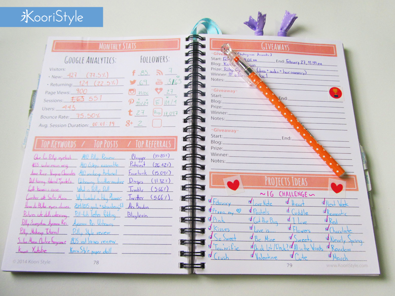 daily planner cute