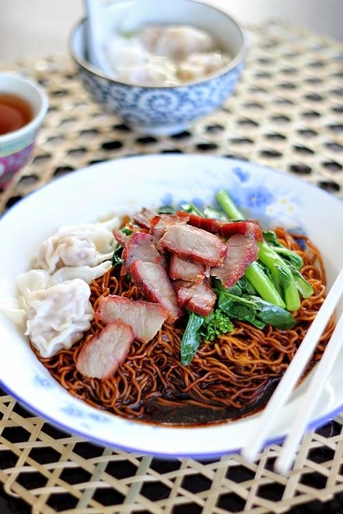 wonton noodles wantan mee serves 4 ingredients 400g 14 oz fresh wonton ...