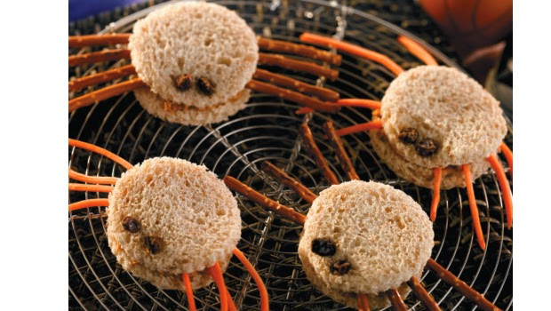 Fiestas de Halloween para Niños, Comida y Bocaditos, parte 1