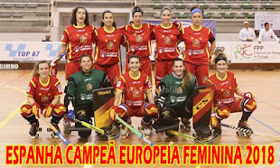 CAMPEONATO DA EUROPA FEMININO 2018 - MEALHADA
