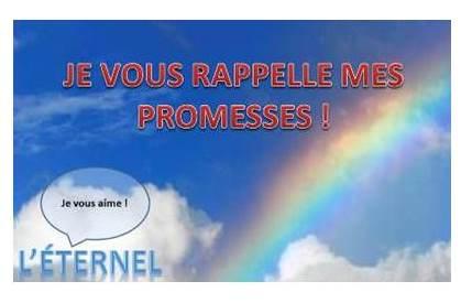 Promesses de l'Éternel !