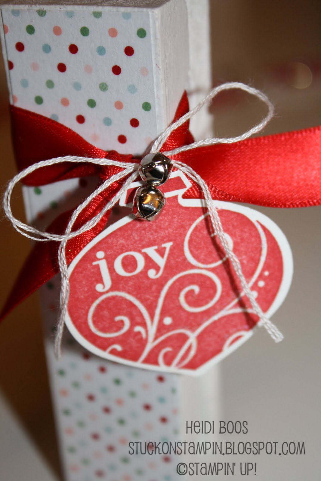 Stuck on Stampin\': 12 days of Christmas {projects} - day 12...and a ...