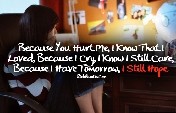 Hurt Quotes | Still Hope Girl Alone Lonely On Chair