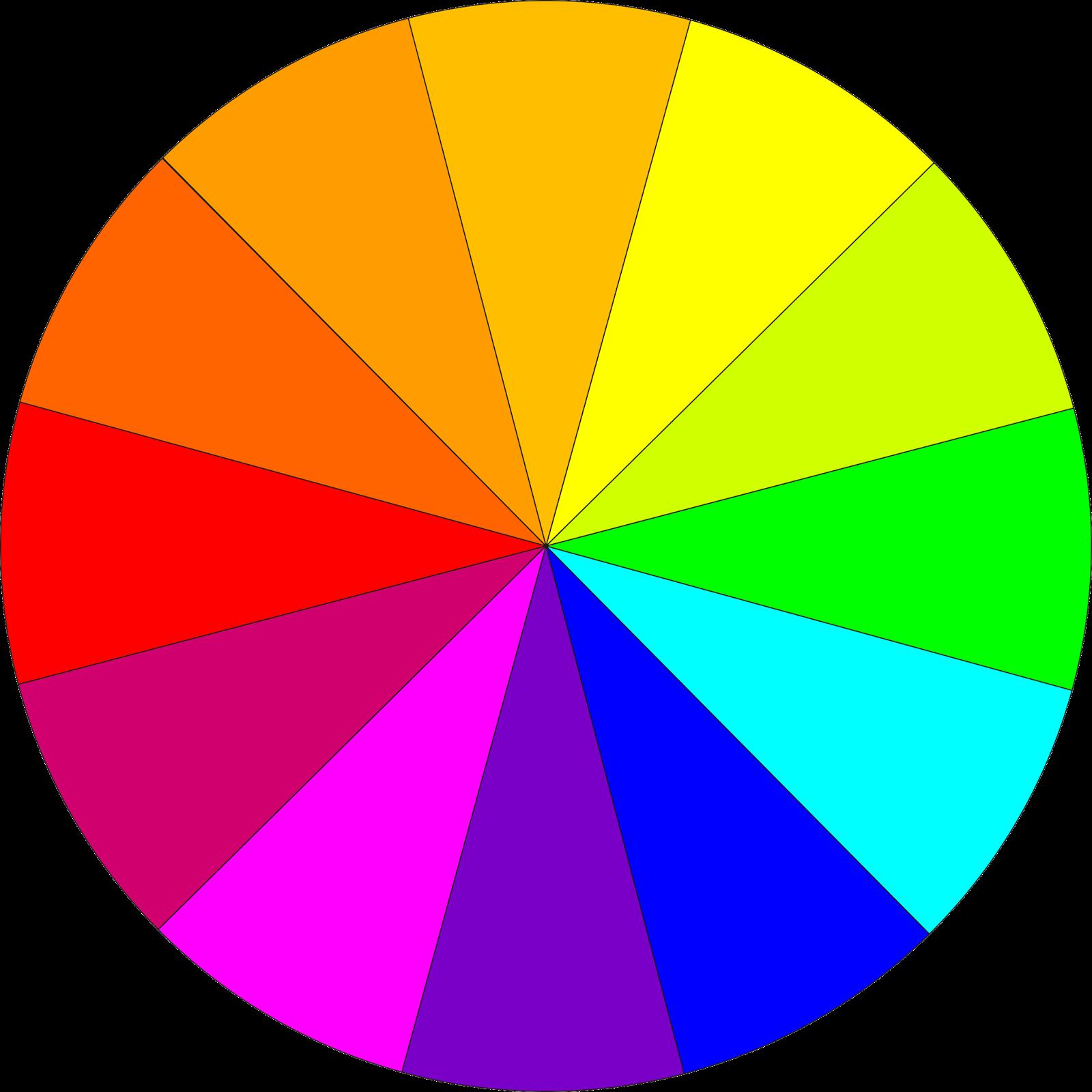 Pin el circulo cromatico on pinterest - Circulo cromatico 12 colores ...