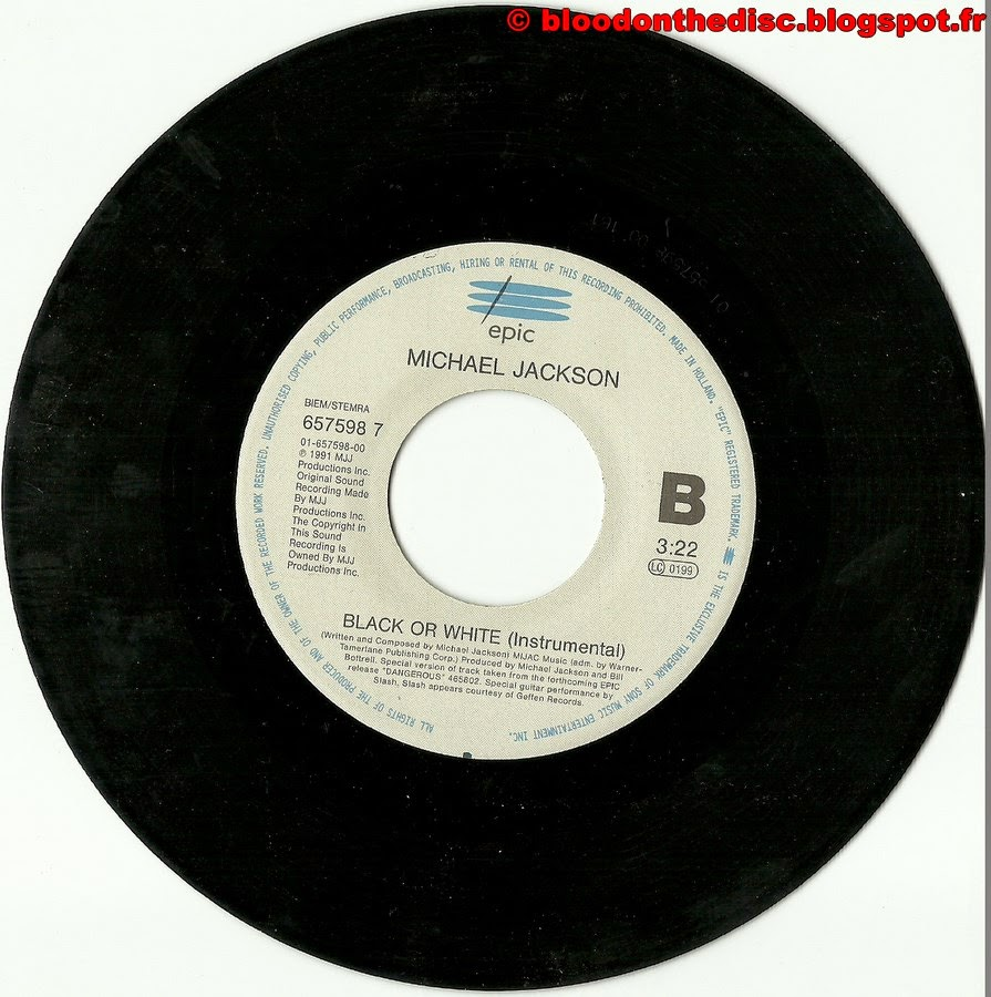 Black Or White 45T Side 2