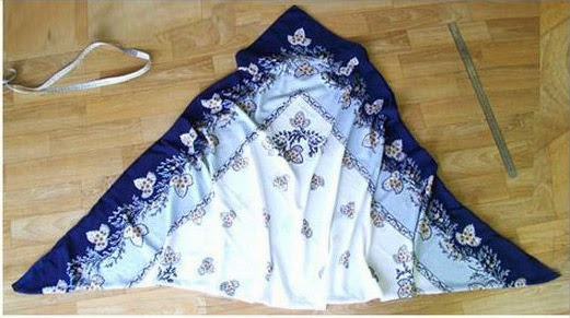 Как сшить  штаны саруэл, алладины, афгани или султанки