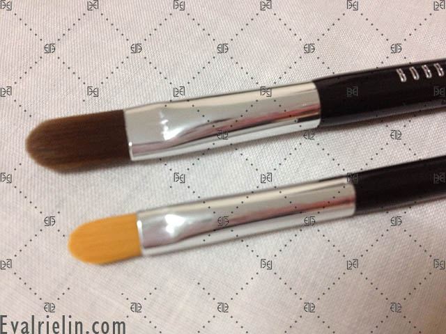 bobbi brown brushes uses. cream bending (aka concealer brush) and dual-ended eyeliner (i\u0027d personally not use this for eye lining as the bristles aren\u0027t aligned flat-tipped. bobbi brown brushes uses s