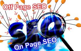 on-page & off page SEO