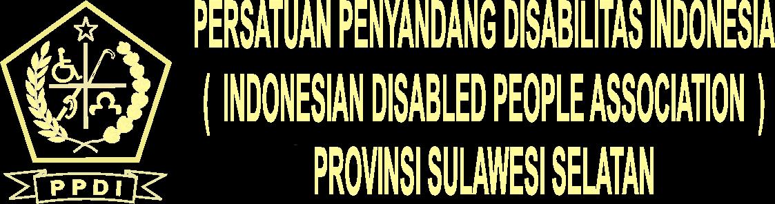 PERSATUAN PENYANDANG DISABILITAS INDONESIA PROVINSI SULAWESI SELATAN
