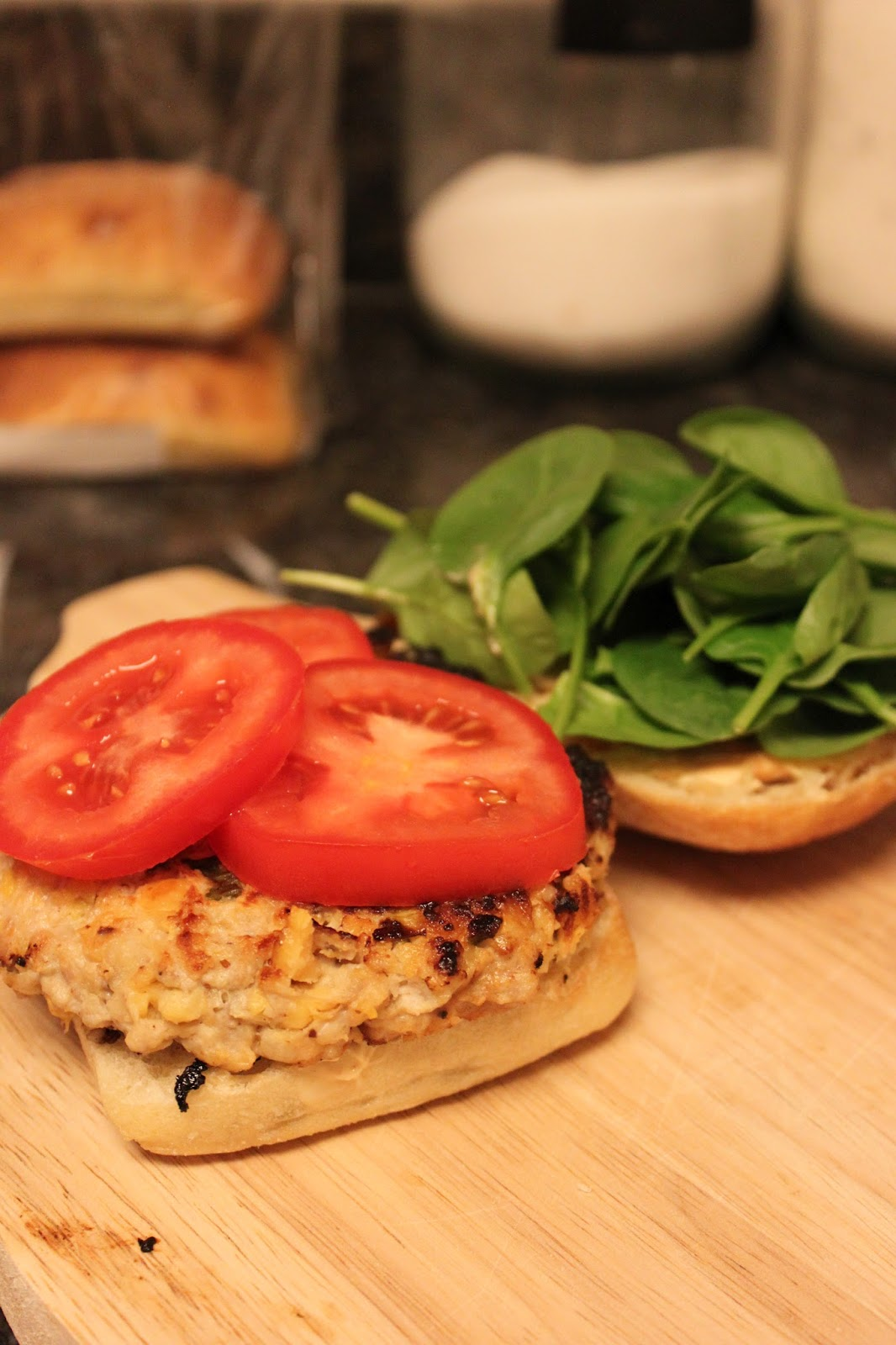 Megsiemay Makes: Chicken & Chickpea Burgers