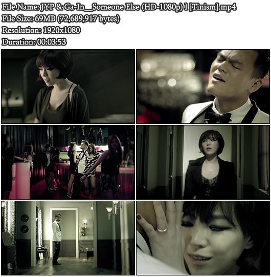 MV JYP & Ga-In - Someone Else (HD 1080p)