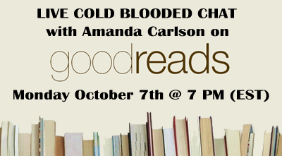 Live Chat with Amanda Carlson