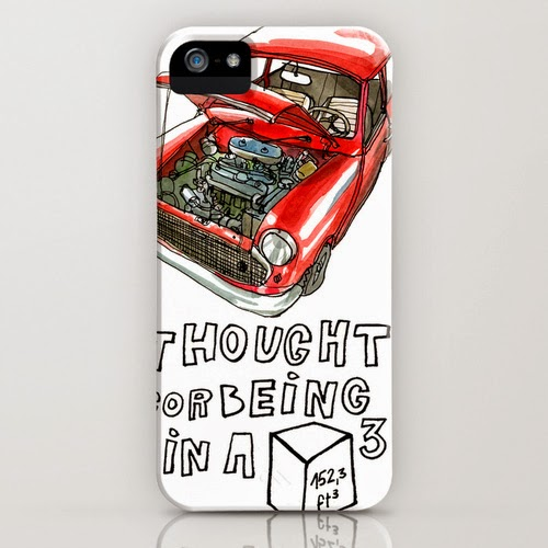 Classic Mini Cooper iPhone case T-shirt