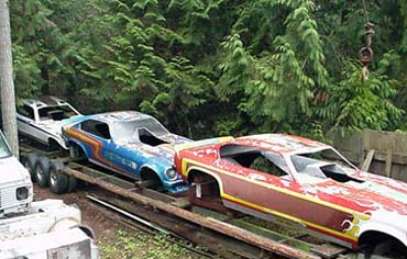 Even Old Race Cars Are Collectible Look At These Vintage 70s Funny Car Bodies
