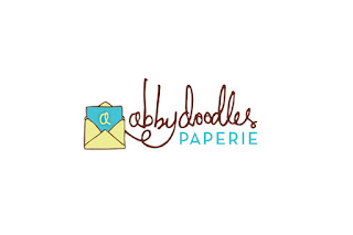 logo for abby doodles by Amy Hardy of Design 8 Days