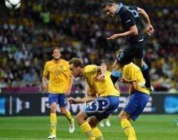 Pertandingan-Inggris-vs-Swedia 3-2 EURO-2012