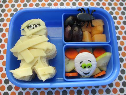 Halloween Mummy Bento