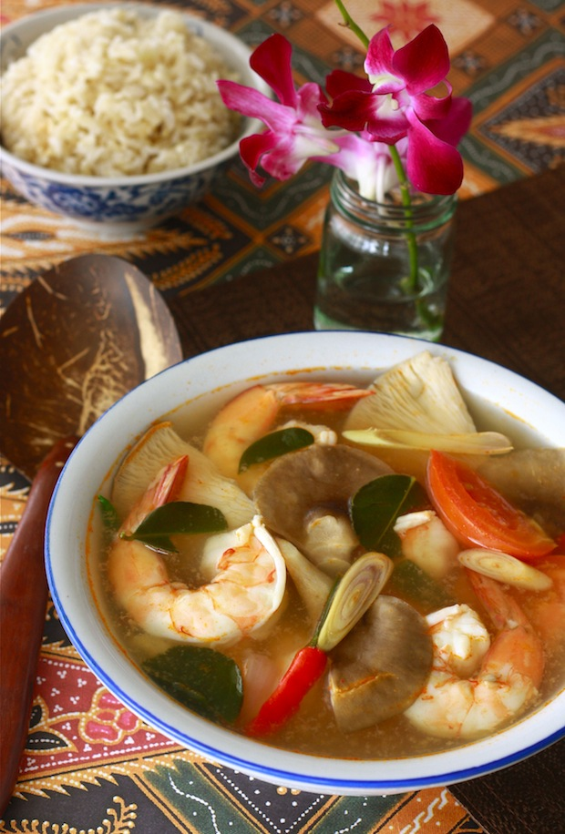 10-Minute Tom Yum Soup (Vegetarian) | Season with Spice