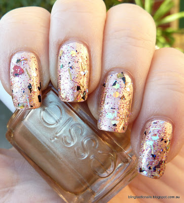 Essie Penny Talk with Enchanted Polish Tummy Time
