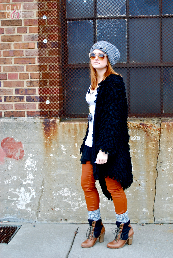 Akron Street Fashion - shag sweater