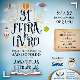 Homenageada da 31ª  Feira do Livro de São Leopoldo