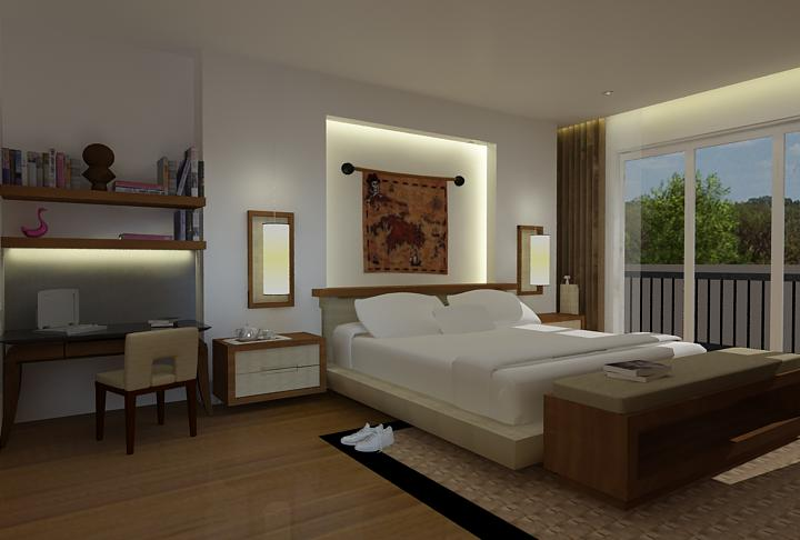 Pastikan kamar tidur Anda menjamin rasa nyaman