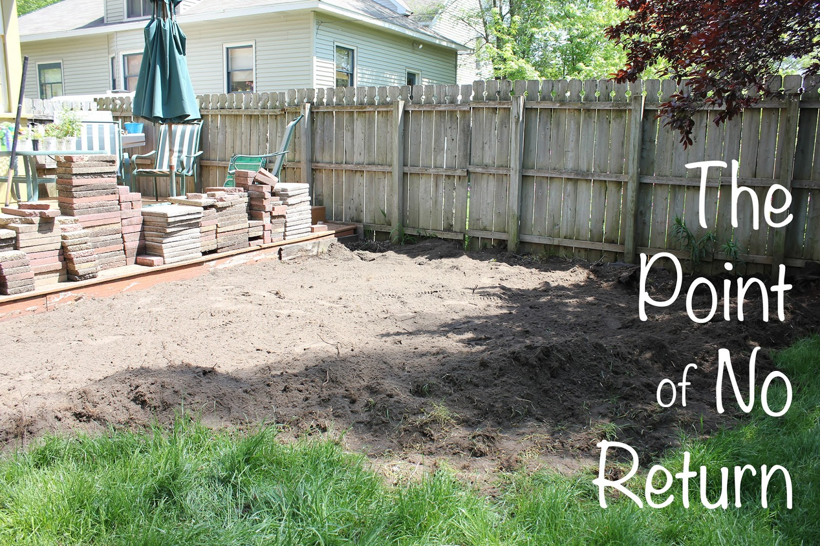 How To: Reclaimed Brick Patio