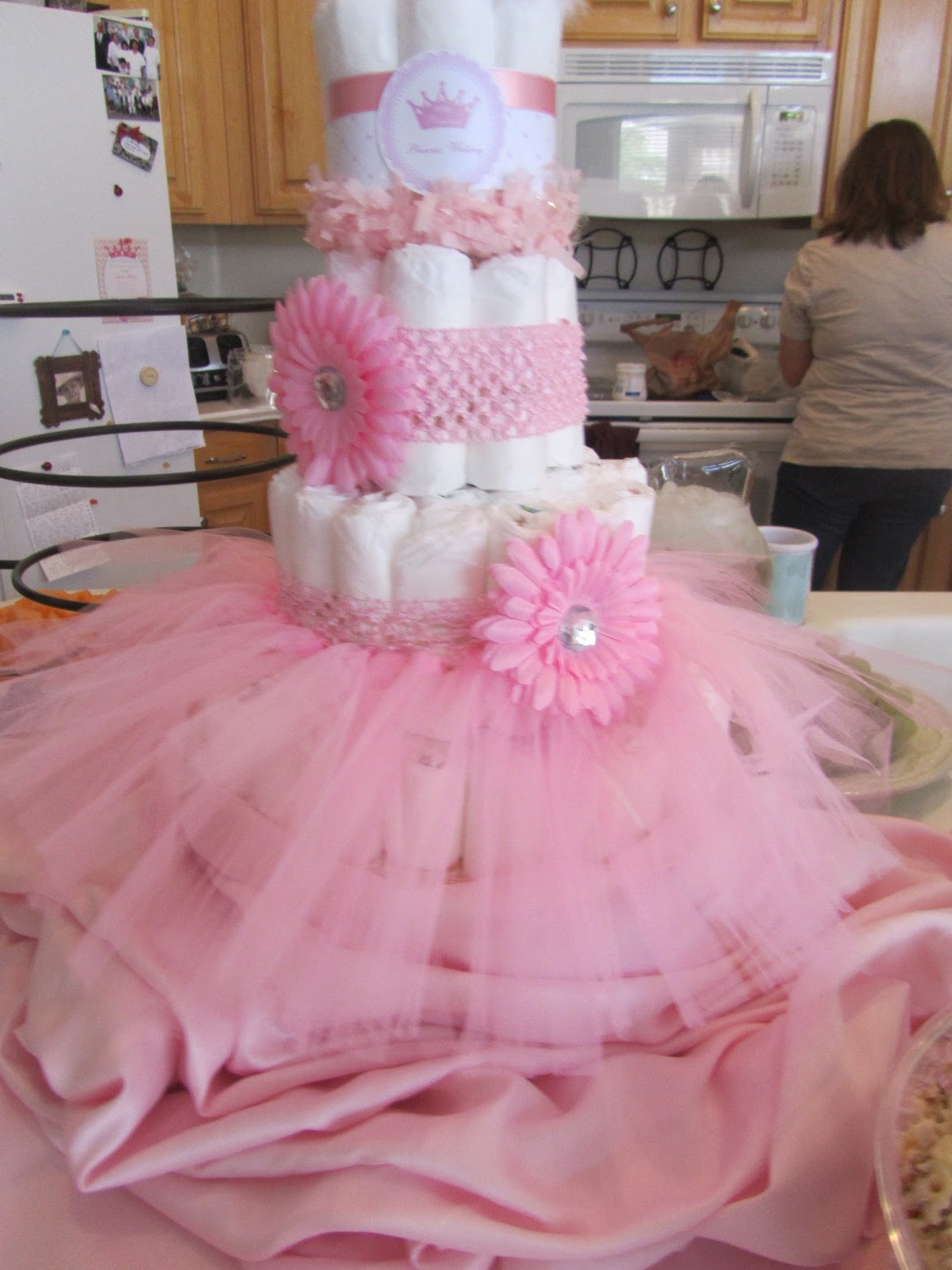 Pulsipher page baby shower for Baby girl shower decoration