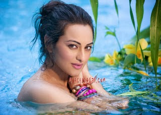 10 Sonakshi Sinha in Bullett Raja Movie OOPS Photos Wallpapers and Detail