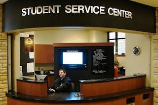 مركز خدمات طلابية