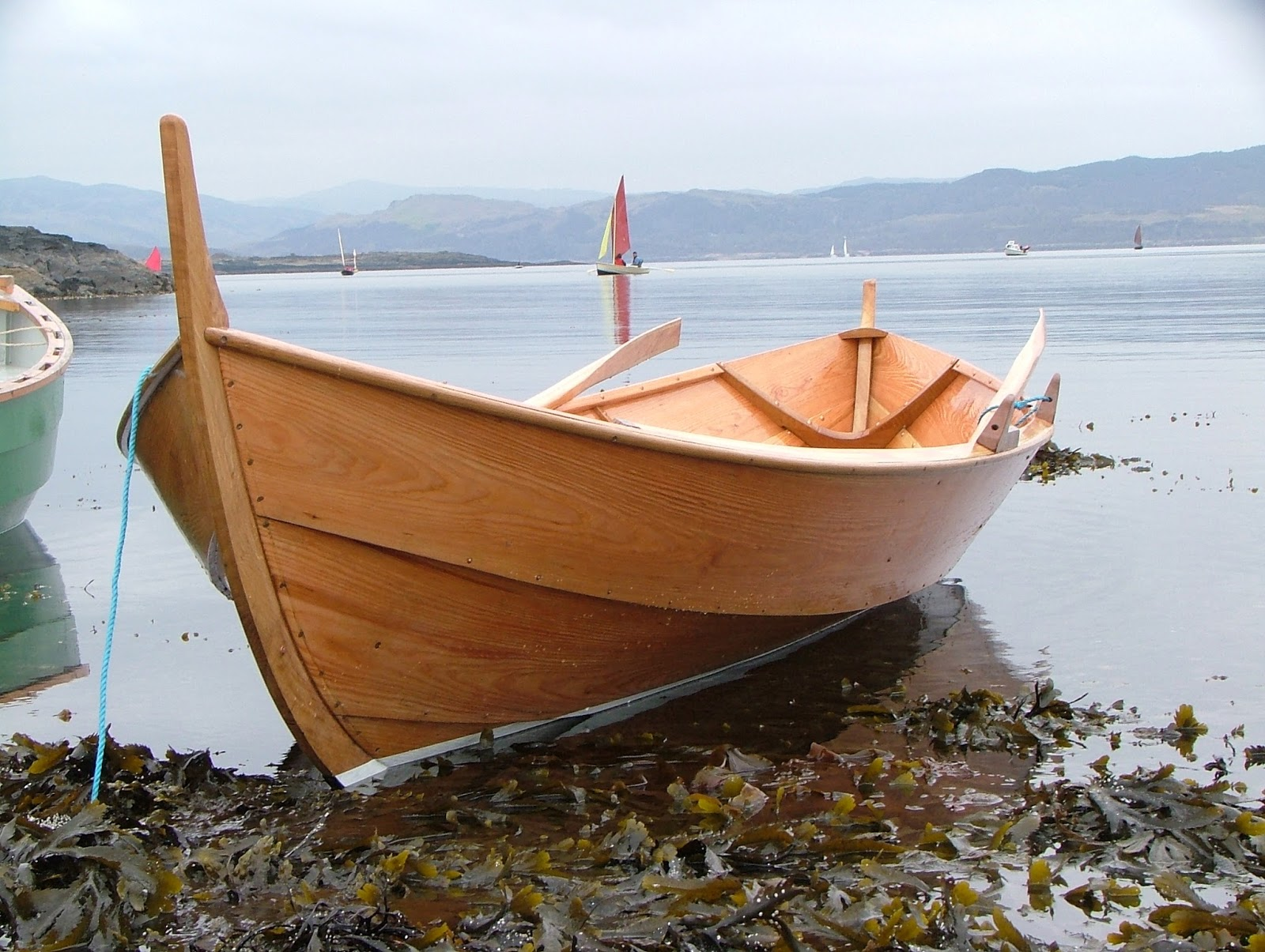 Viking Boats of Ullapool: On Reflection