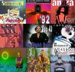 1992 top 40 zene