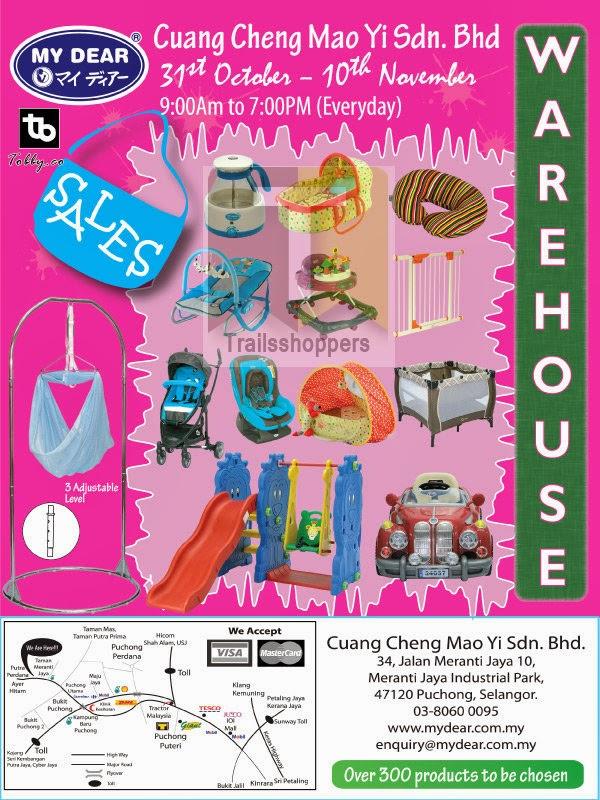 My Dear Warehouse Sales 2013
