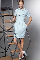 Елегантна рокля балон Karl Lagerfeld пролет-лято 2013