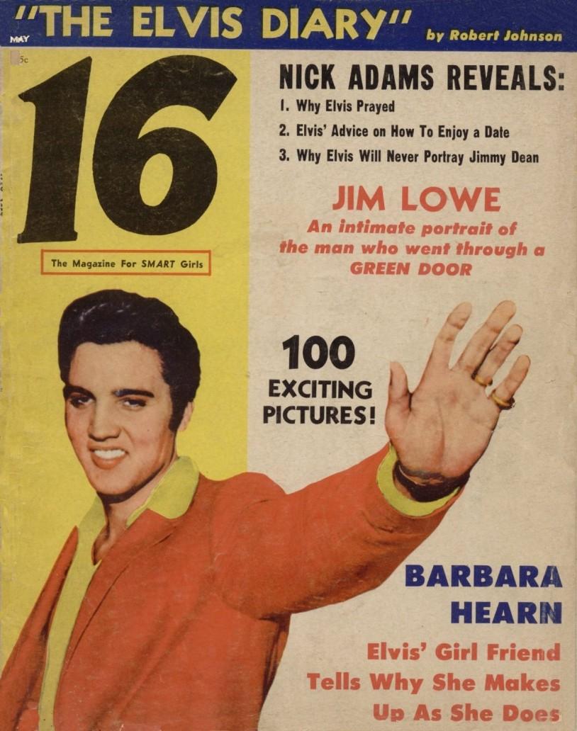 Elvis Presley Magazine Covers