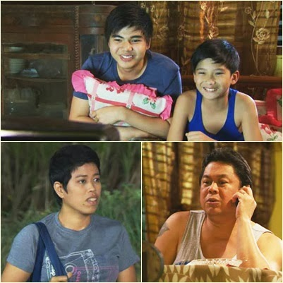 Paul Salas, Harvey Bautista, Moi Bien and Dennis Padilla in MMK