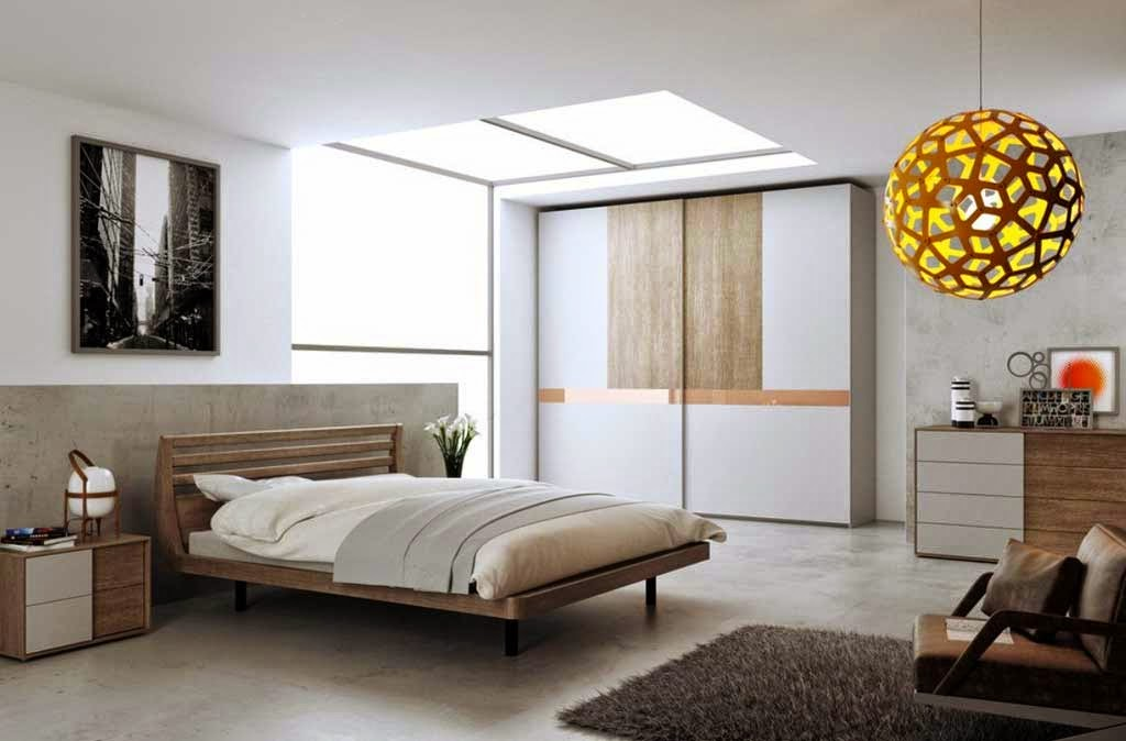 modern wooden bed design minimalist bedroom