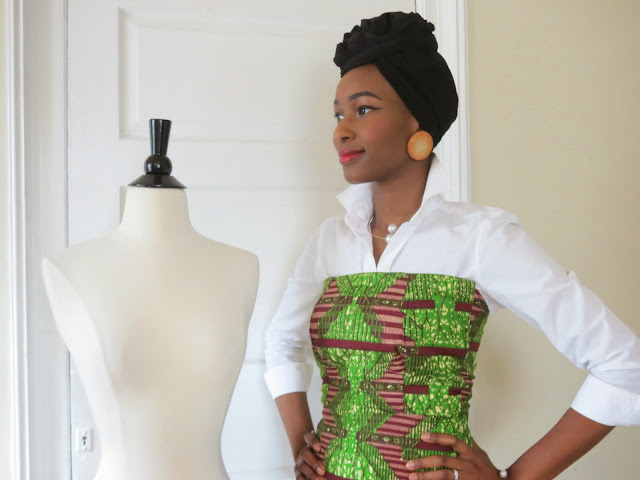 Ankara Tube Dress