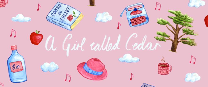 A girl called Cedar