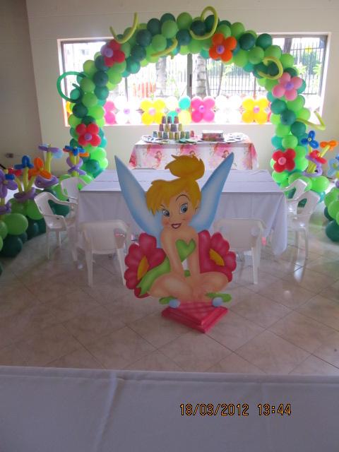 CAMPANITA - TINKER BELL DECORACION FIESTAS INFANTILES  Fiestas ...
